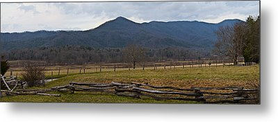 Cade's Cove - Smoky Mountain National Park Metal Print by Christopher Gaston