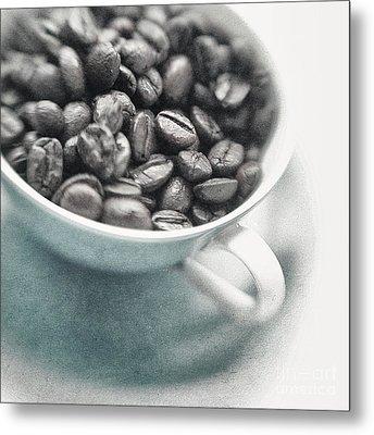 Caffeine Metal Print by Priska Wettstein