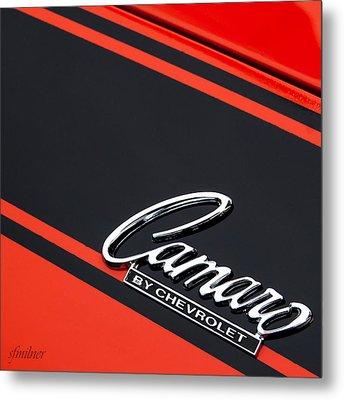 Camaro By Chevrolet Metal Print by Steven Milner