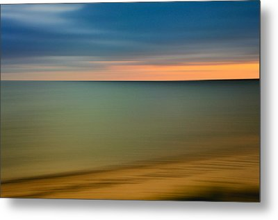 Cape Cod Sunset- Abstract  Metal Print by Thomas Schoeller