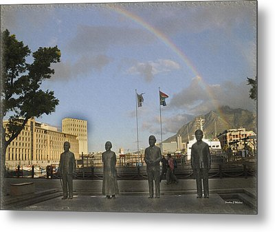 Cape Town Freedom South Africa Metal Print by Jonathan Whichard