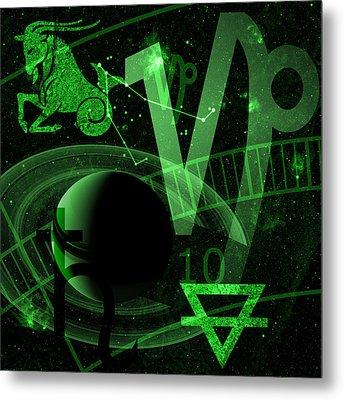 Capricorn Metal Print by JP Rhea