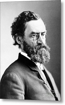 Carl Schurz (1829-1906) Metal Print by Granger