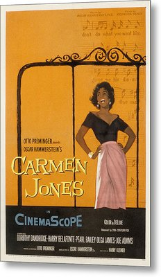Carmen Jones, Dorothy Dandridge, 1954 Metal Print by Everett