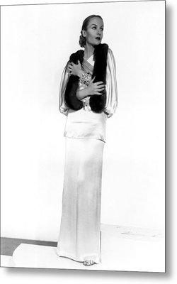 Carole Lombard, Portrait Metal Print by Everett