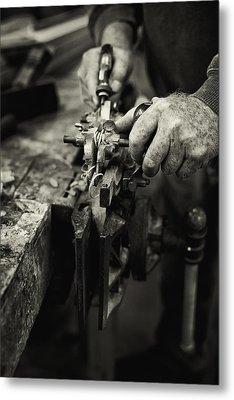 Carpenter L Metal Print by Rob Travis
