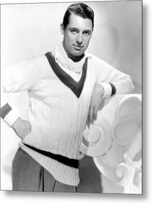 Cary Grant, 1934 Metal Print by Everett