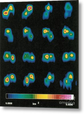 Castalia Asteroid Sequence, False-color Metal Print by Science Source