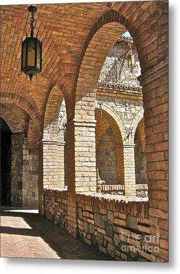 Castello Amorosa Metal Print by Italian Art
