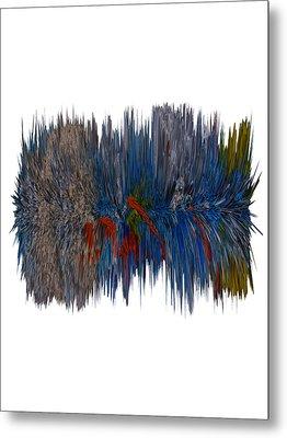 Cat Hair Ball Metal Print by Robert Margetts