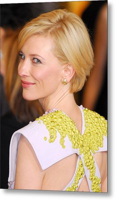 Cate Blanchett At Arrivals For The 83rd Metal Print by Everett