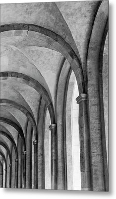 Cathedral At Eberbach Monastery Metal Print by Dg73