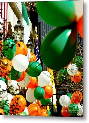 Celebrate Saint Patrick's Day Metal Print by Carol F Austin