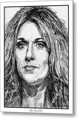 Celine Dion In 2008 Metal Print by J McCombie