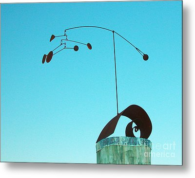 Centered Metal Print by Tommy  Urbans