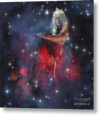 Cerces, The Daughter Of The Sun Metal Print by Corey Ford