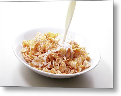 Cereal Food Metal Print by Yuji Kotani