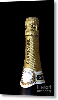 Champagne Neck Metal Print by Richard Thomas