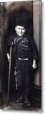 Charles Dickenss Character, Tiny Tim Metal Print by Everett