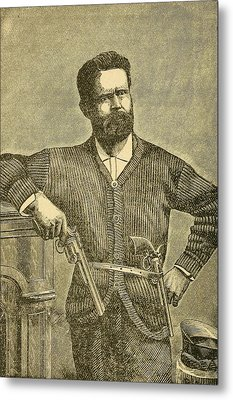 Charles Quantrill Led Confederate Metal Print by Everett