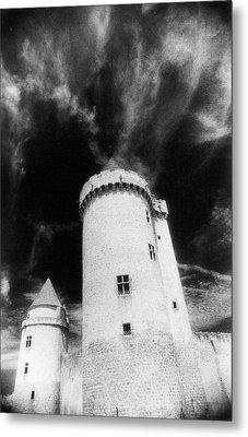Chateau De Blandy Les Tours Metal Print by Simon Marsden