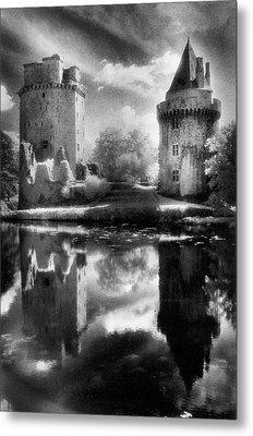 Chateau De Largoet Metal Print by Simon Marsden