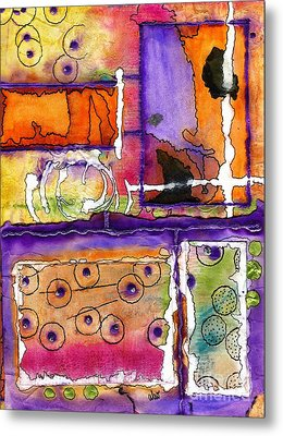 Cheery Thoughts - Warm Wishes Metal Print by Angela L Walker