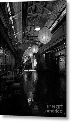 Chelsea Market Interior Metal Print by David Bearden