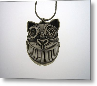 Cheshire Cat  Metal Print by Michael Marx