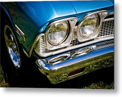 Chevelle Lights Metal Print by Phil 'motography' Clark