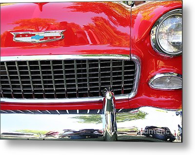 Chevrolet Bel-air - 5d16438 Metal Print by Wingsdomain Art and Photography