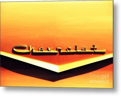 Chevrolet Metal Print by Susanne Van Hulst