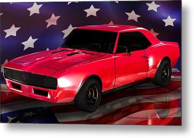 Chevy Camaro Intimidator Metal Print by Robert Matson