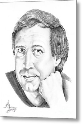 Chevy Chase Metal Print by Murphy Elliott