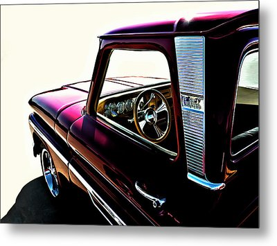 Chevy Pickup Metal Print by Douglas Pittman