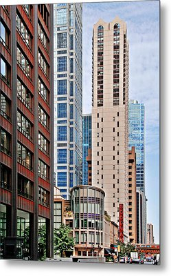 Chicago - Goodman Theatre Metal Print by Christine Till