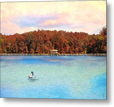 Chickasaw Bridge Metal Print by Jai Johnson