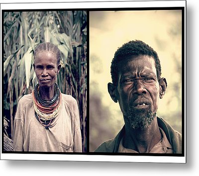 Chief Of The Tribe Metal Print by Marian Barbu