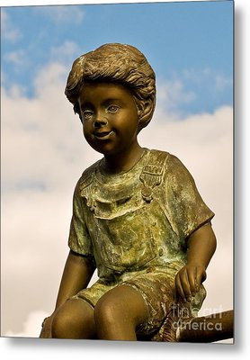 Child In The Clouds Metal Print by Al Powell Photography USA