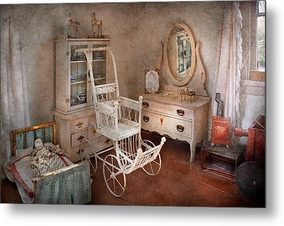 Children - Toy - Things You Find In A Girls Room Metal Print by Mike Savad