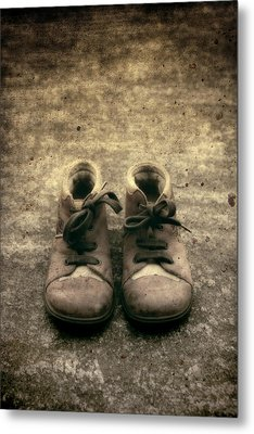 Children's Shoes Metal Print by Joana Kruse