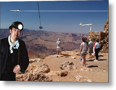 Chinese Buy Grand Canyon-1 Metal Print by Larry Mulvehill