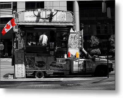 Chip Wagon Metal Print by Andrew Fare