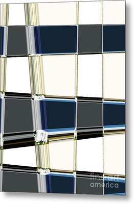 Chrome Metal Print by Lj Lambert