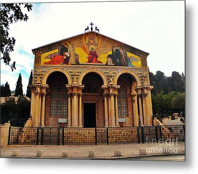 Church Of All Nations  Metal Print by Robin Coaker