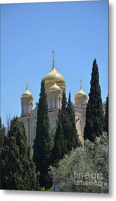 Church Of Gornensky Convent 2 Metal Print by Moshe Moshkovitz