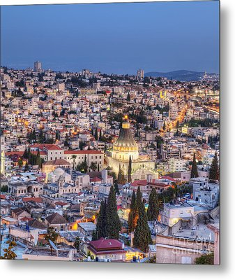 Church Of The Annunciation Metal Print by Noam Armonn