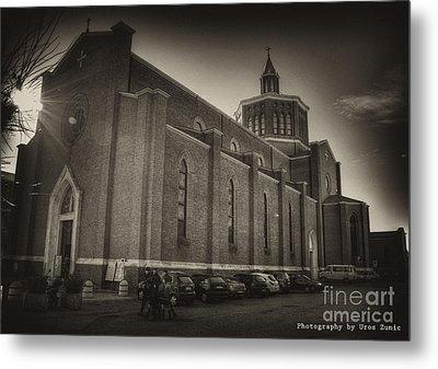 Church Metal Print by Uros Zunic