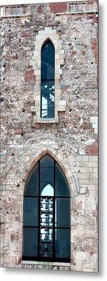 Church Windows Metal Print by Shirley Mitchell