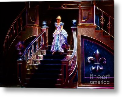 Cinderella Enters The Ball Metal Print by Darleen Stry